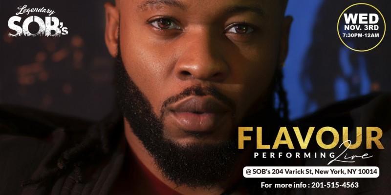 Flavour Live @ SOB's