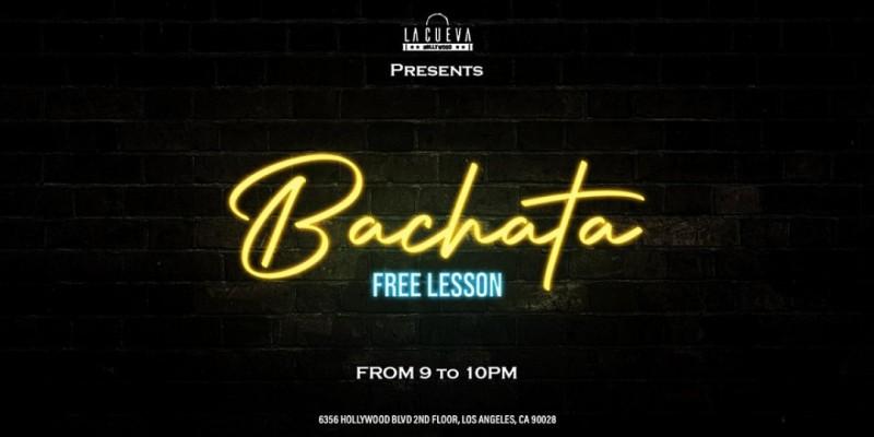 Free Bachata Lessons at La Cueva ,Los Angeles