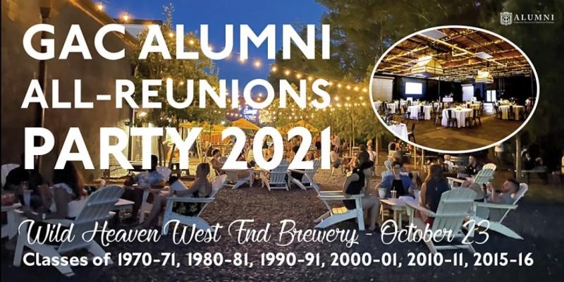 GAC Alumni All-Reunions Party 2021 ,Atlanta