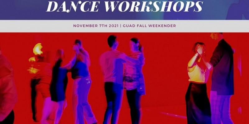 GUAD Fall Weekender Dance Workshops! ,Atlanta