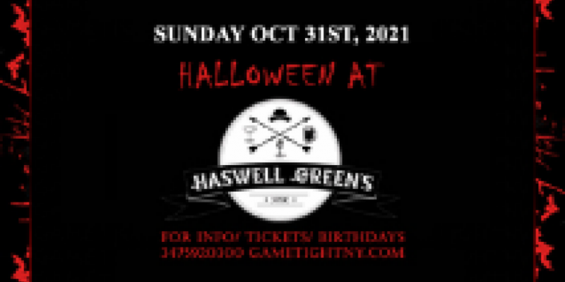 Haswell Green's NYC Halloween party 2021 only $15 ,New York