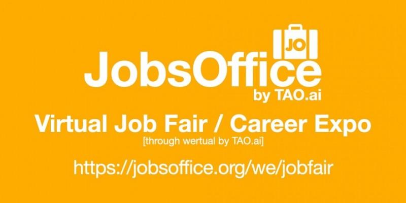 #JobsOffice Virtual Job Fair / Career Expo Event #New York ,New York