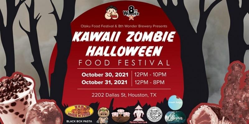Kawaii Zombie Halloween Food Festival ,Houston