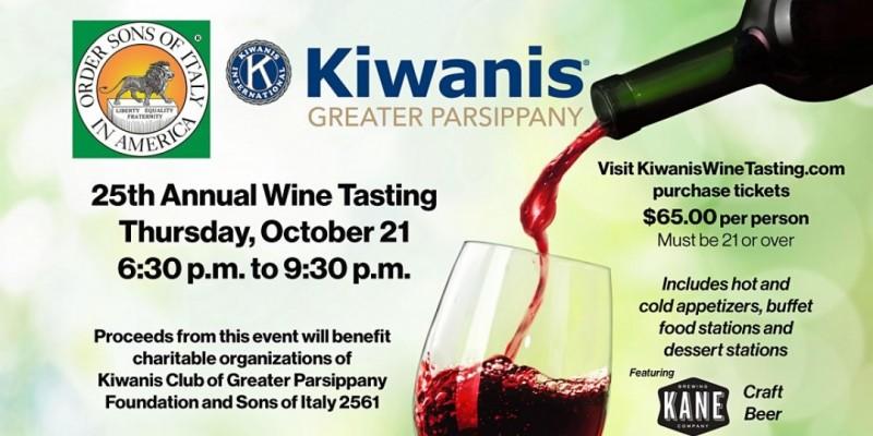 Kiwanis Grand Tasting Fundraiser ,East Hanover