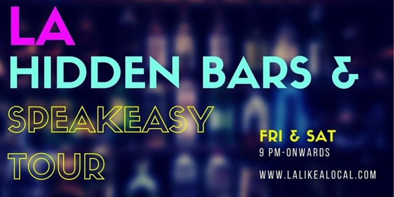 LA Hidden Bars & Speakeasy Tour ,Los Angeles