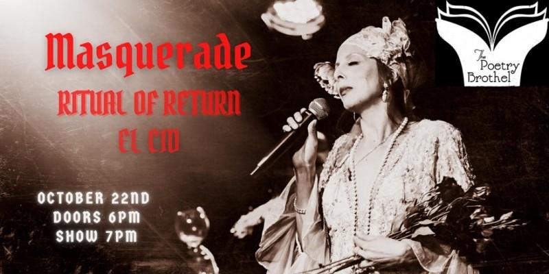 LA Poetry Brothel Masquerade: Ritual of Return ,Los Angeles