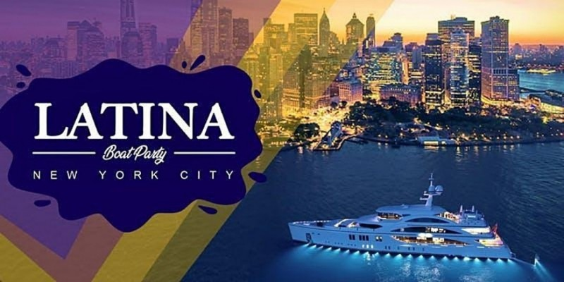 LATIN BOAT PARTY YACHT CRUISE   Music, Cocktails Views & Vibes ,New York