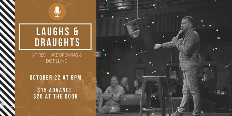 Laughs & Draughts at Red Hare Brewing and Distilling ,Marietta