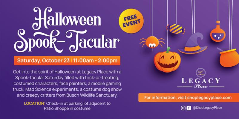 Legacy Place Halloween Spooktacular ,Palm Beach Gardens