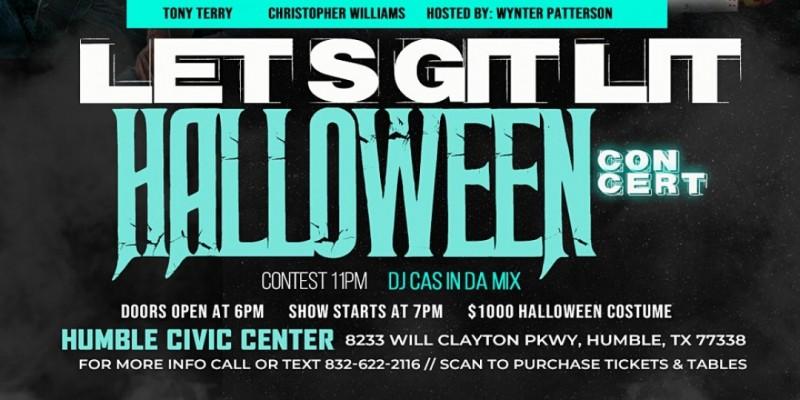 Let's Git Lit Halloween Concert ,Humble