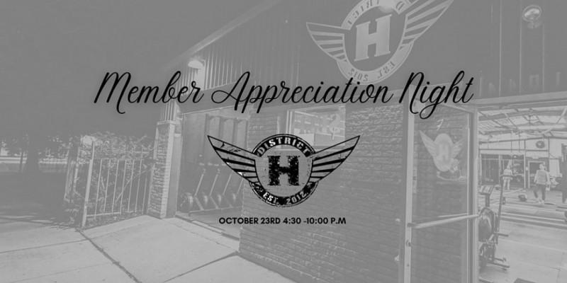 Member Appreciation Night ,Houston