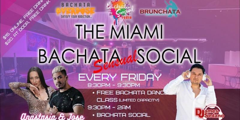Miami's Bachata Social ,Miami