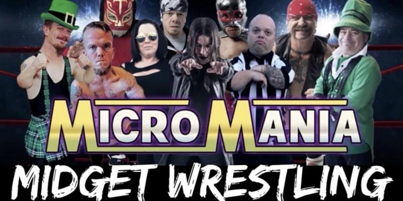 MicroMania Midget Wrestling: Alpharetta, GA at Joes Sports Bar ,Alpharetta