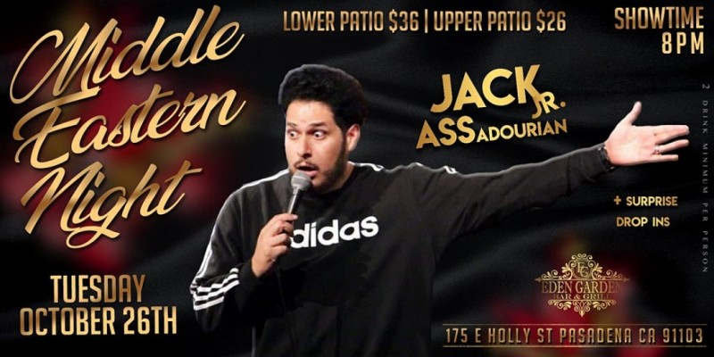 Middle Eastern Comedy Night ,Pasadena