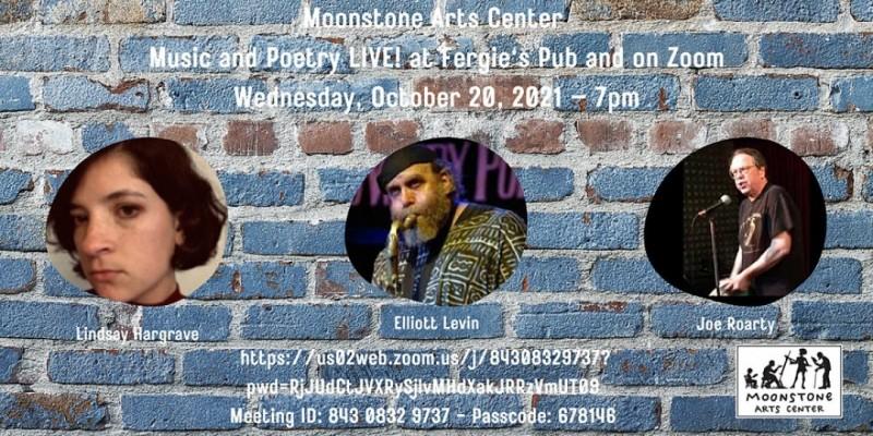Moonstone Poetry Presents: Music and Poetry LIVE! ,Philadelphia