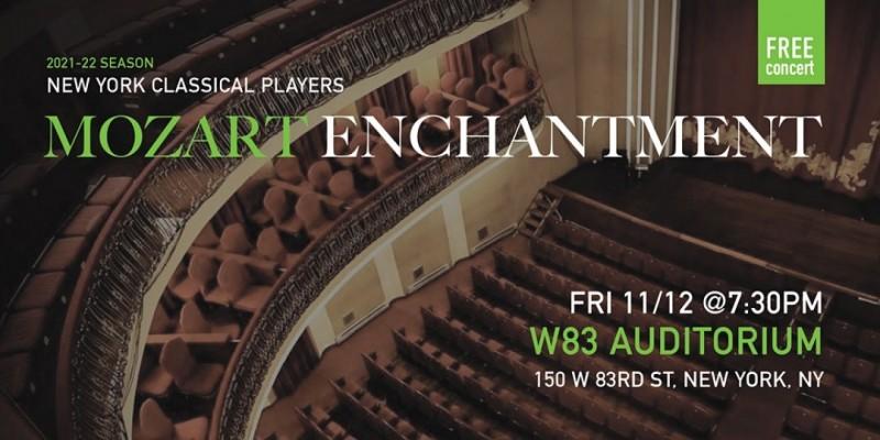 Mozart Enchantment (Nov12) ,New York
