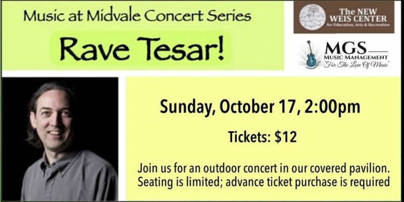 Music at Midvale presents: Rave Tesar! ,Ringwood