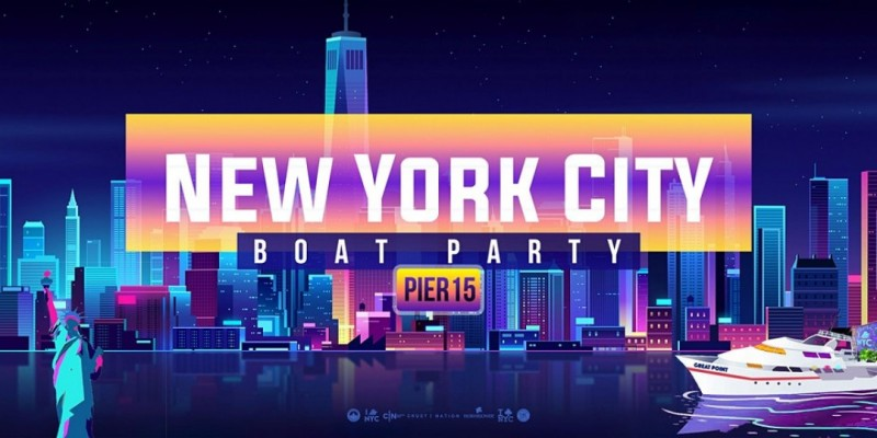 New York City Boat Party Yacht Cruise  NYC ,New York