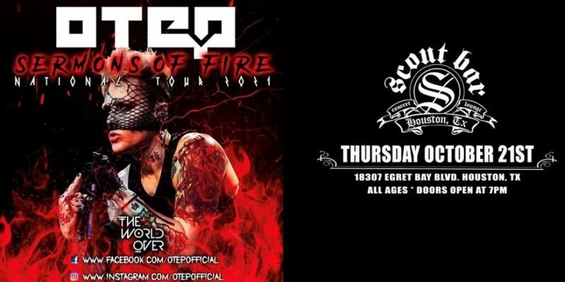 OTEP - Sermons Of Fire Tour 2021 ,Houston