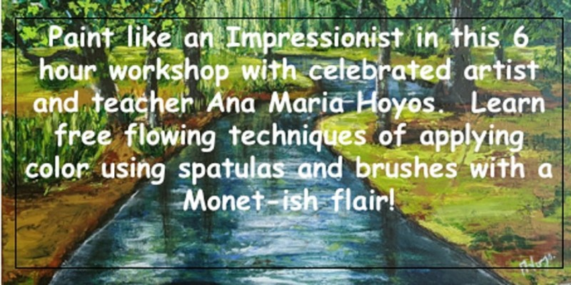 Paint Like an Impressionist! ,Fort Lauderdale