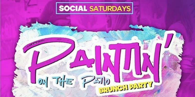 Paintin on the Patio ( Lunch Included)  @ Domain Social Saturdays ,Houston