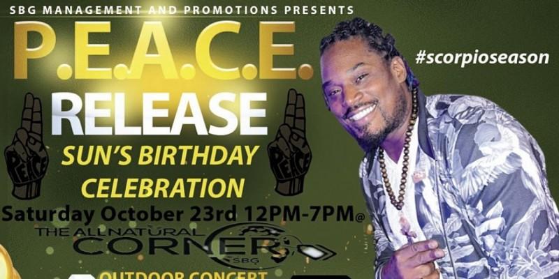 P.E.A.C.E. RELEASE #7HOURSOFPEACE BIRTHDAY RALLY ,Willingboro