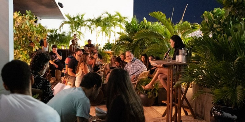 Poetry Night at Layla Rooftop ,Miami Beach