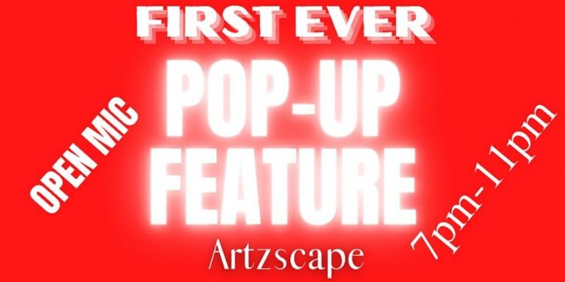 POP-UP FEATURE (Open Mic) ,Wilmington