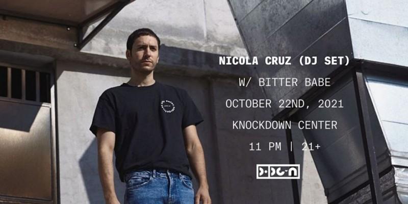 PopGun Presents... Nicola Cruz (DJ Set) w/ Bitter Babe ,Maspeth