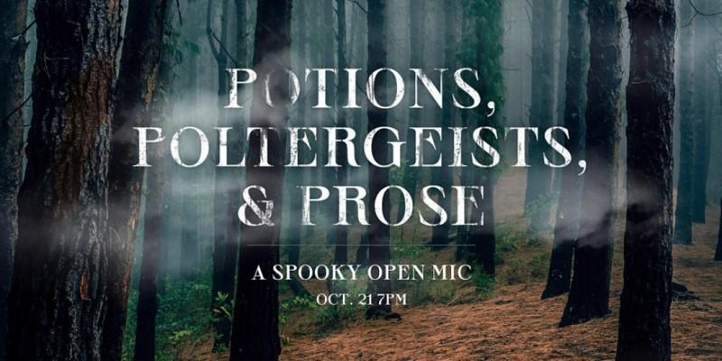 Potions, Poltergeists, & Prose: A Spooky Open Mic ,Philadelphia