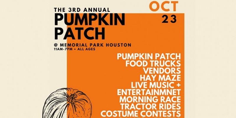 Pumpkin Patch at Memorial Park ,Houston