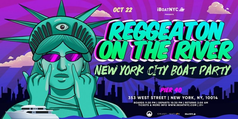 Reggaeton on the River - Latin Music Boat Party NYC ,New York