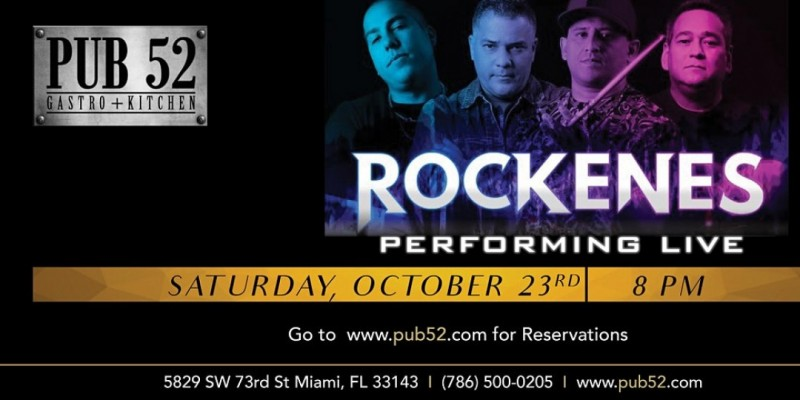 Rockenes Band Live at Pub52 ,South Miami