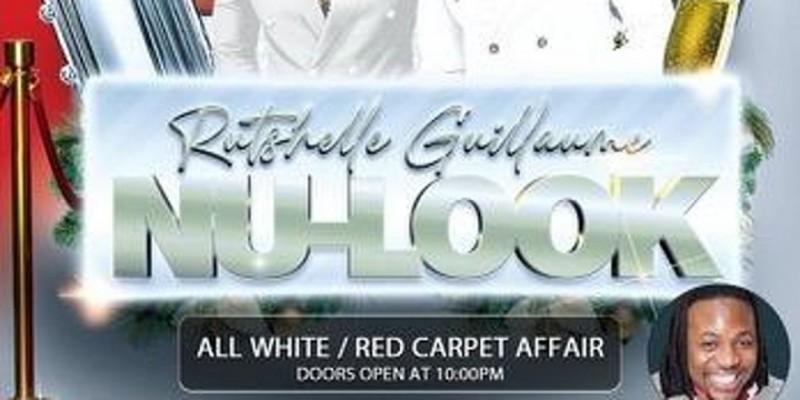 RUTSHELL GUILLAUME & NULOOK ALL WHITE / RED CARPET AFFAIR ,Lauderhill