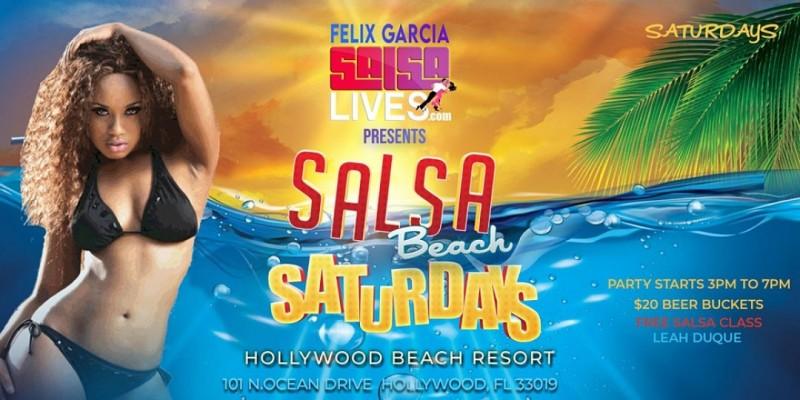 Salsa On The Beach Saturdays @ The Hollywood Beach Resort ,Hollywood