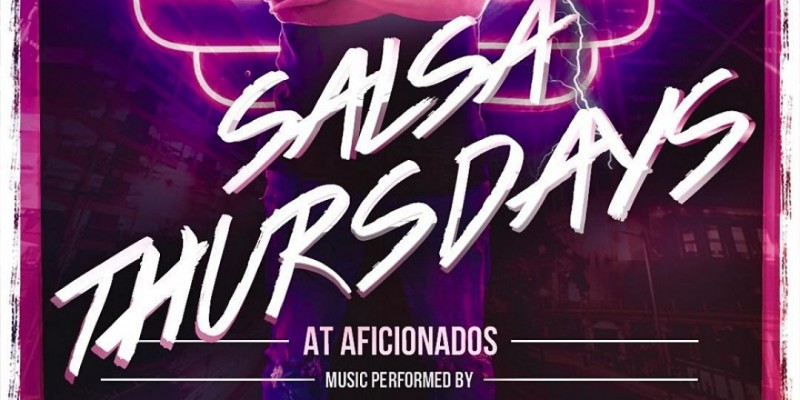 SALSA Thursdays @ Aficionados ,Miami