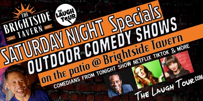 Saturday Night Specials OUTDOOR COMEDY SHOWS @ Brightside Tavern ,Jersey City