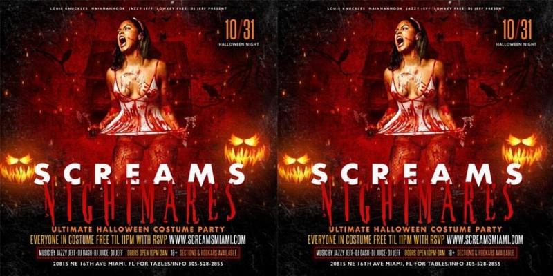Screams & Nightmares ,Miami