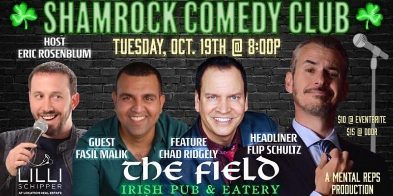 Shamrock Comedy Club w/ Flip Schultz!! ,Fort Lauderdale