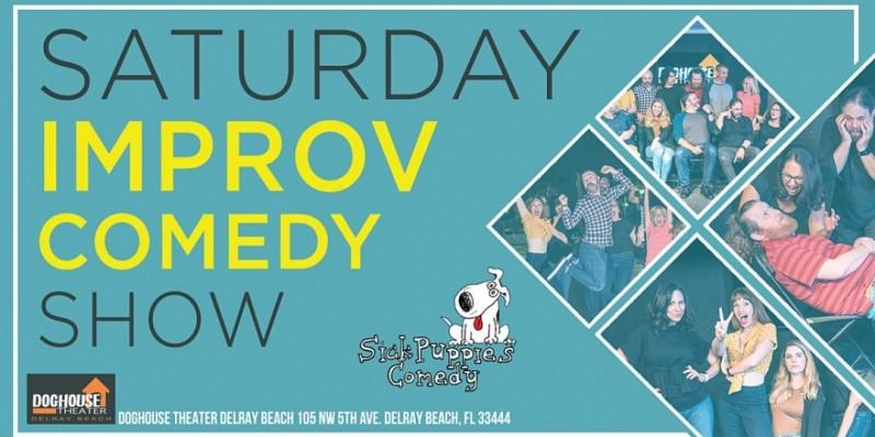 Sick Puppies Improv Comedy Show in Delray Beach ,Delray Beach