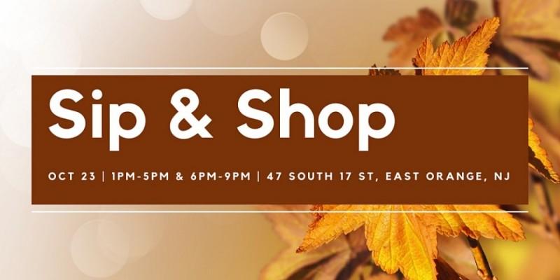 Sip & Shop ,East Orange