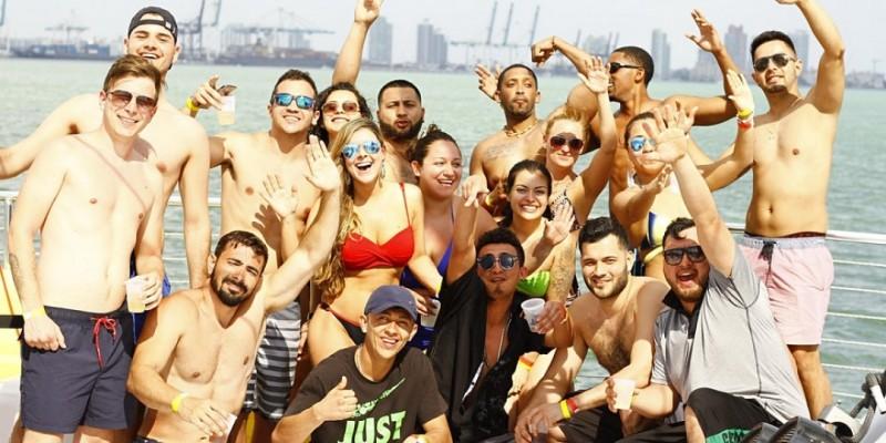 SPRING BREAK Miami Party Boat- Unlimited drinks ,Miami