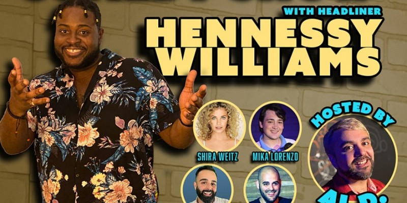 Stand-Up Comedy Show with Hennessy Williams ,Miami