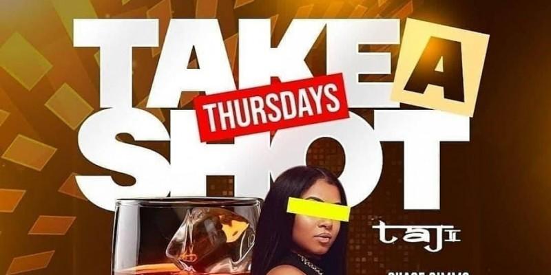 """TAKE A SHOT THURSDAY'S"" AFTER WORK PARTY @ ""TAJ LOUNGE "" MANHATTAN ,New York"