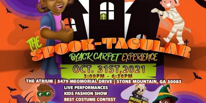 Teach-Shirts 4 Tots & NTH3CRIB Hosts-SPOOK-TACULAR Black Carpet Experience ,Stone Mountain