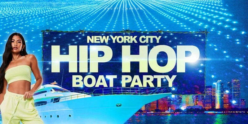 THE #1 Hip Hop & R&B Boat Party Yacht Cruise NYC ,New York