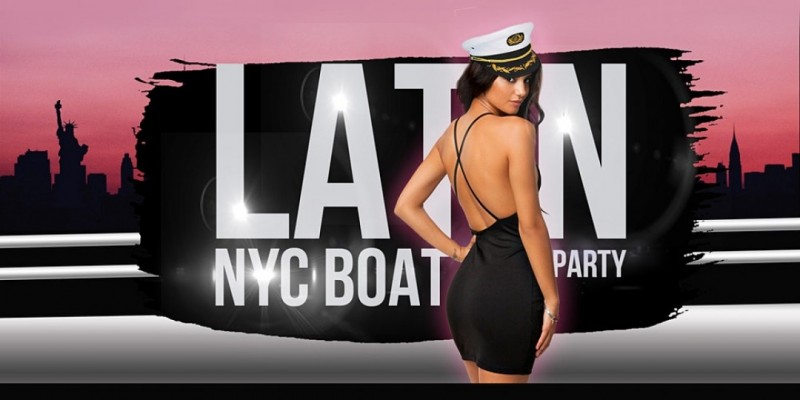 THE #1 Latin Music Yacht Cruise - Saturday Night NYC Boat Party ,New York