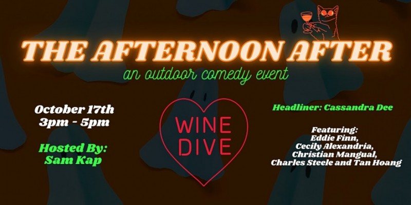 The Afternoon After: An Outdoor Comedy Event ,Philadelphia