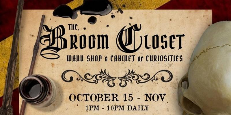 The Broom Closet - Wand Shop & Cabinet of Curiosities ,Houston