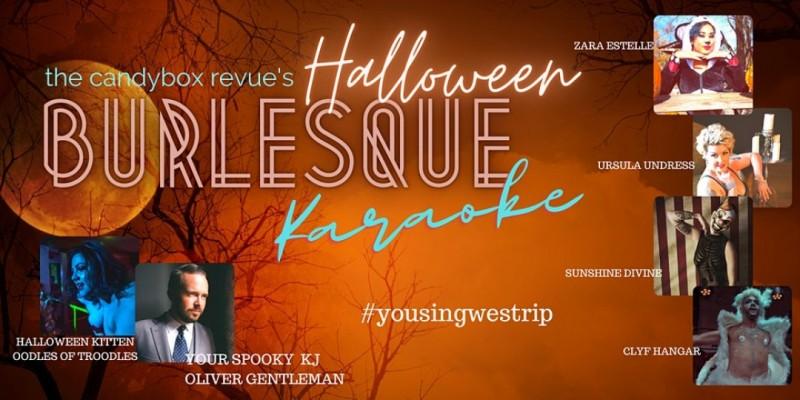 The Candybox Revue's Burlesque Karaoke - Halloween Edition ,Atlanta